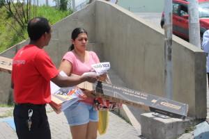 Materiais foram entregues pela cidade
