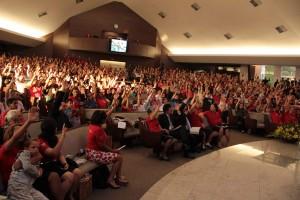 Cerca de duas mil pessoas participaram do evento