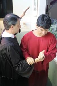 O cantor participou do programa Bíblia Fácil da TV Novo Tempo