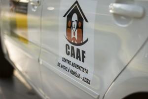 Na ocasião, um carro foi doado ao CAAF