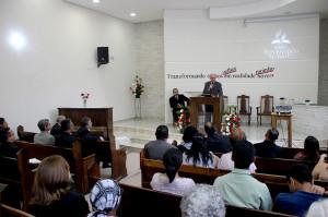 Pr. Sidionil Biazzi nova igreja de Moinho Velho.