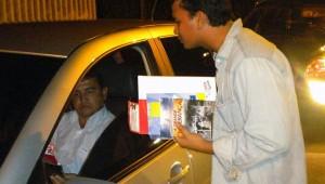 Jovens fizeram a diferença no trânsito da capital amazonense