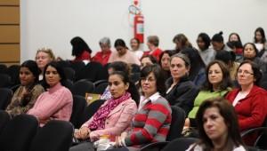 Mulheres durante o curso.