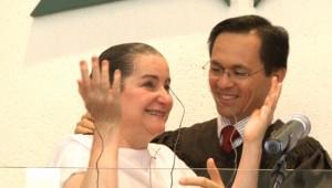 Professora Maristela Oliveira: vida transformada por completo após encontro.