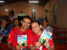 Jovens envolvidos com a evangelização de grandes centros urbanos.