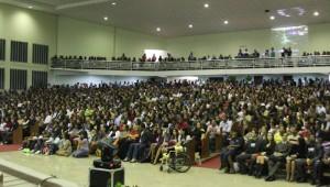 Jovens de Salvador participam de Vigília.