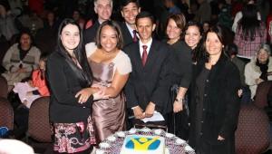 Convidados especiais comemoram os 18 anos da rádio Novo Tempo em Teresópolis.