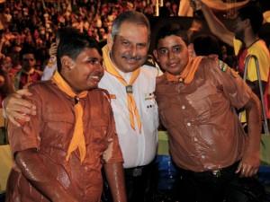 Jovens da Paulistana se batizam, confirmando o compromisso com Deus