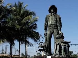 Parque do Peão, em Barretos, recebeu desbravadores de todo Estado de São Paulo