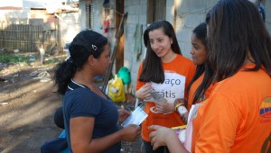 Jovens de Missão Calebe mostraram fé prática
