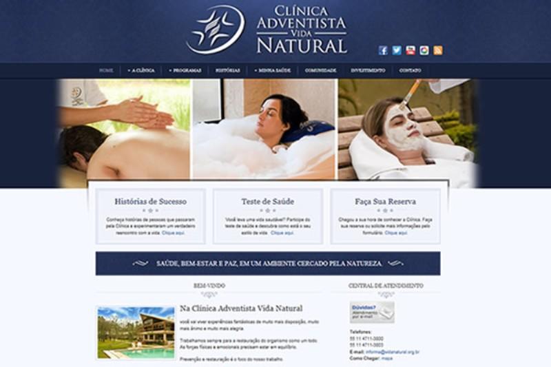 Novo visual do site