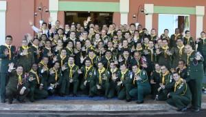 93 líderes de jovens da América do Sul.
