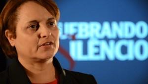 Elange Ferreira, coordenadora do Quebrando o Silêncio para a região Central de São Paulo.