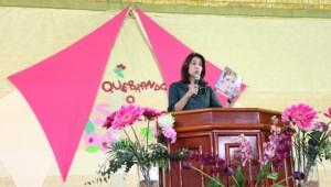 Responsável por esse projeto em todo o sul do Estado do Rio Grande do Sul, Rosinha Oliveira.