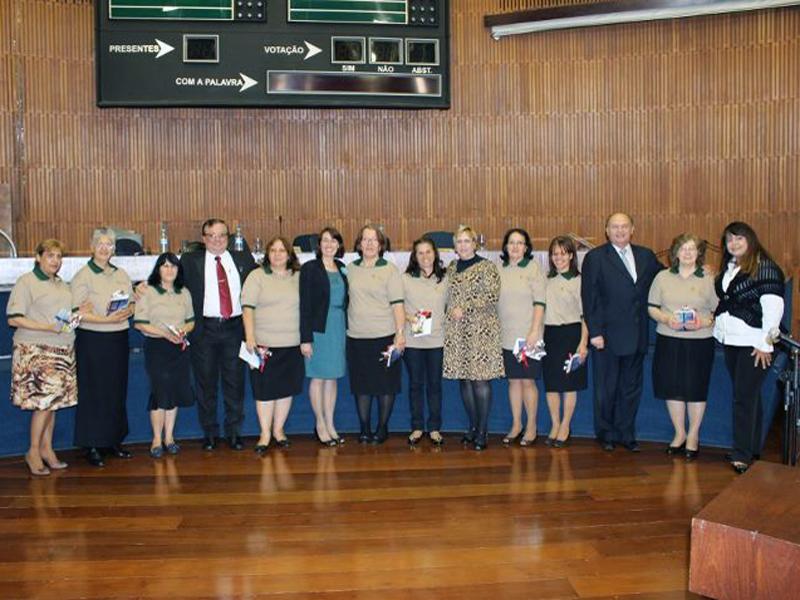 Diretoras da ASA de Santo André foram homenageadas