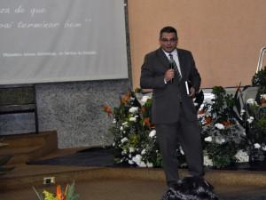 Pastor Cássio Marcello, orador dos sete sábados de evangelismo