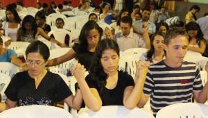 Momento de Consagração dos membros do Setor Raizal