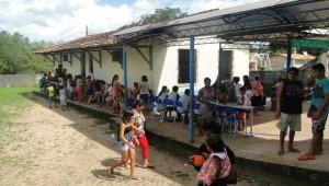 O trabalho voluntário foi realizado por uma equipe de 20 voluntários e membros das Igreja do Coqueiro. Foto: Wesley Stephanio