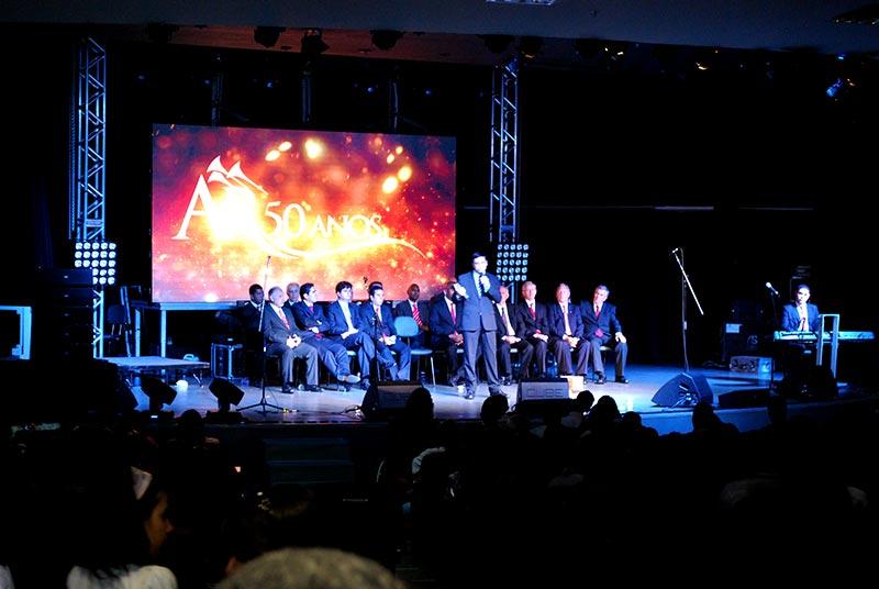 Lançamento ao vivo do DVD 50 anos dos Araoutos do Rei