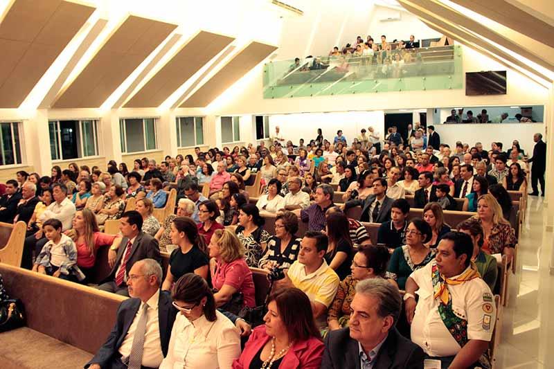 vista geral da Igreja de Santos