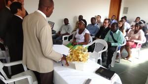 O Centro Cultural é local também para troca de experiências, e uma aproximação ainda maior entre os brasileiros e haitianos.