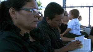 Participantes vindos de dez igrejas da região.