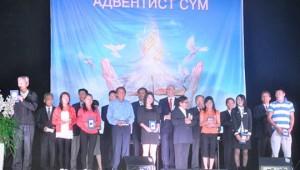 Cerca de 100 pessoas tomaram a decisão de se unir à Igreja Adventista, que conta com aproximadamente 1.700 membros na Mongólia.