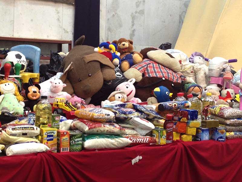 O movimento do Mutirão de Natal beneficia centenas de famílias