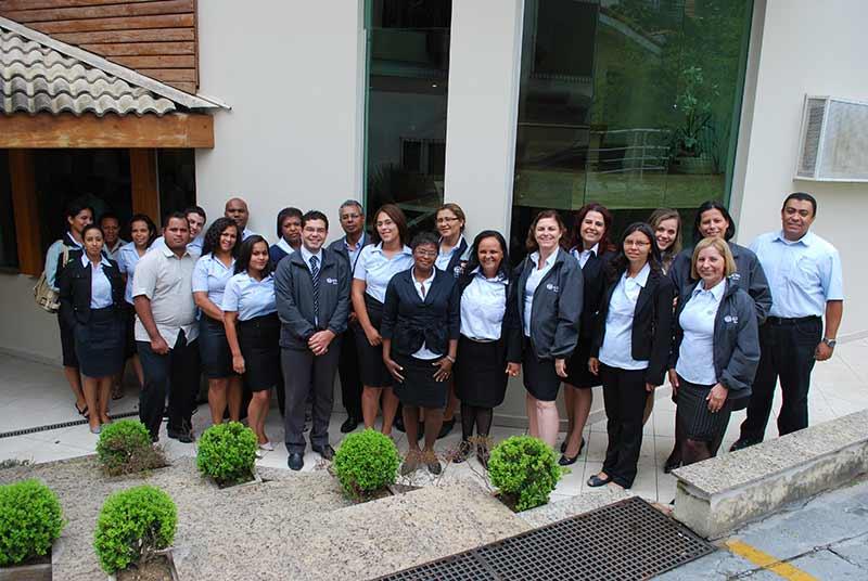 Grupo de servidores da ADRA Paulistana
