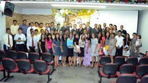 Nos cinco dias de concílio os estudantes receberam inspiração, motivação e capacitação.