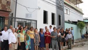 Inauguração de Igreja atrai visitantes da comunidade.