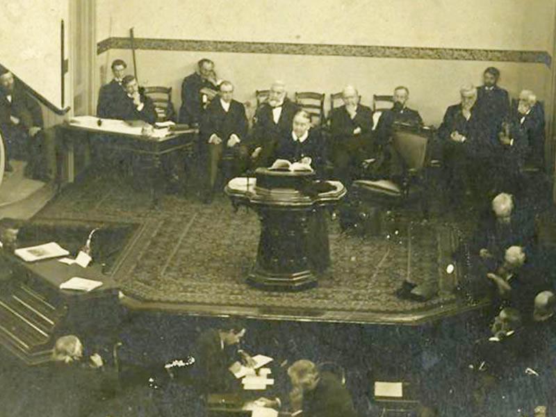 Assembleia Geral em 2 de Abril de 1901