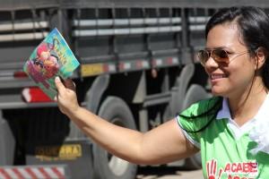 As revistas e panfletos distribuídos traziam mensagens de apoio e conscientização tanto em linguagem adulta, quanto acessível às crianças.