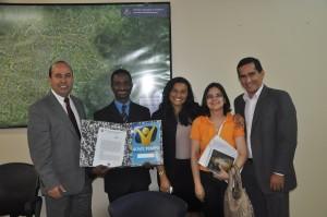Estiveram, ainda, no encontro o pastor Marcelo Frutuoso e Maricélia Cardoso, representantes da igreja local.