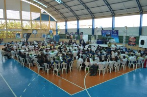 O principal palestrante foi Ronaldo Alves, que mostrou na prática, os benefícios de se ter uma igreja em pequeno grupo.