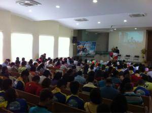 Projeto pretende levar mais de 2013 pessoas ao batismo