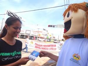 Educação Adventista de Mato Grosso participa do Impacto Esperança.