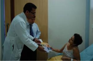 Pacientes foram lembrados na capital do Amazonas
