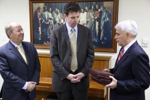 Líderes da IRLA conversam com presidente dos mórmons no Brasil