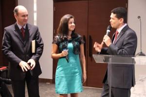 Jovem entre os pastores destaca sua vontade de ajudar a discipular outros