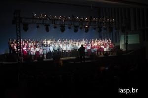 Toda a parte vocal do CD do Coral Jovem foi produzida no Estúdio 49 do UNASP, campus Hortolândia.