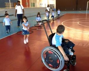 Em 2013, um aluno trouxe um novo desafio para a Escola.