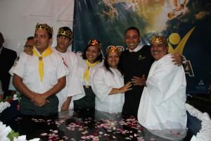 O programa de evangelismo aconteceu de 09 a 15 de junho e terminou com o batismo de 26 pessoas em Fragoso.