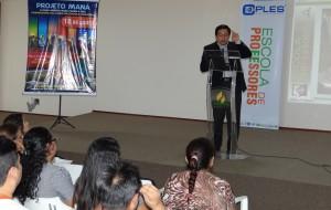 A programação teve como palestrante o professor de Teologia e Pedagogia do Centro Universitário Adventista de São Paulo, UNASP campus Engenheiro Coelho, Adolfo S. Suárez.