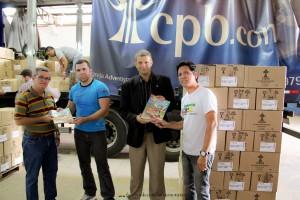 Uma parceria entre Casa Publicadora Brasileira e DETRAN foi firmada para aquisição de 220 mil exemplares revista da Turma do Nosso Amiguinho.