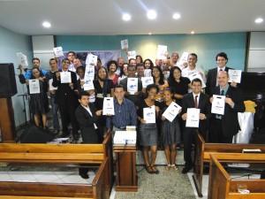 Grupo de colportores da Associação Espírito-Santense