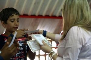 Certificados foram entregues aos alunos no encerramento da Escola Cristã de Férias