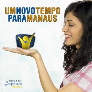 Publicidade já anuncia a chegada da emissora há vários dias na capital amazonense