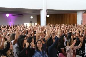 """""""O Deus que me vê"""" foi o tema do evento que aconteceu em Feira de Santana-BA."""