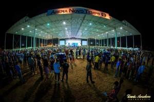 Arena Novo Tempo, com capacidade para mais de seis mil pessoas, foi palco do evento.
